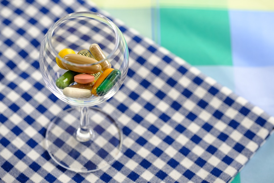 Tablets Nutrient Additives Dietary Supplements Pills